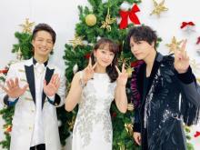 花總まり、ついに音楽番組単独初出演 『FNS歌謡祭』で山崎育三郎、田代万里生とデュエット