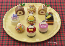 「ミッキー&フレンズ」のプチケーキがコージーコーナーに登場♩おうちクリスマスやアフタヌーンティーに◎