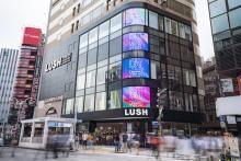 LUSHの魅力を再発見できるかも♡ 世界に1つだけのポップアップ「Lush Holiday Market」が新宿店に登場