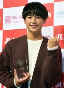 『ジュノンスーパーボーイ』グランプリ前川佑さん 14歳で早くも大物の風格 夢はミュージカル俳優