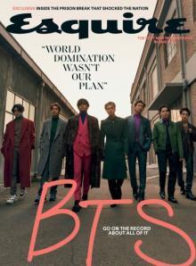 BTS、米国で『Esquire』表紙飾る 「ポップスの頂上」「私たちは歴史を経験している」