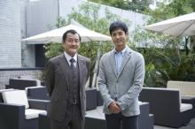 吉田鋼太郎、『DOCTORS』初登場 沢村一樹と再共演「ドキドキして眠れなかった…」