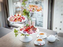 苺づくしの「ハイティー」が新登場♩渋谷CÉ LA VI TOKYOのルーフトップで楽しめる優雅なティータイム♡