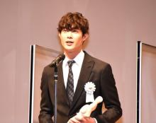 宮沢氷魚、俳優人生で初受賞「一生忘れない」 『TAMA映画賞』で最優秀新進男優賞