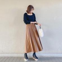 """【今週なに着る?】15度前後でよく着るニット×スカート。おしゃれさんはこの""""ひと癖デザイン""""をチョイス!"""