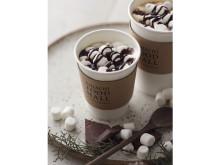 チョコレート×とろけるマシュマロ!冬にぴったり新作のデザートドリンク