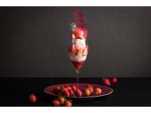 「ホテルメトロポリタン川崎」に苺をふんだんに使用した新作パフェが登場!
