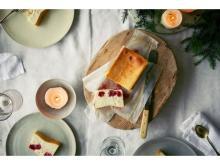 クリスマスの「Mr. CHEESECAKE」はイチゴミルク×ライチ!