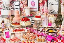 花の都パリをテーマにBarbieとコラボ♡ストリングス表参道、ピンク色のいちごビュッフェが元日からスタート!