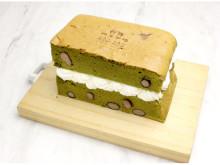 """「OMATCHA SALON 玉川髙島屋S・C」に抹茶を使用した""""台湾カステラ""""が登場"""