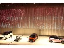 日産グローバル本社ギャラリーで「ウインターイルミネーション」開催中