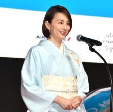 米倉涼子、着物姿で映画祭来場「映画は我々の希望」