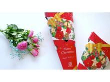 お花のサブスク「Bloomee LIFE」が期間限定でクリスマスパッケージに!