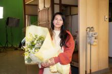 柴咲コウ、『35歳の少女』クランクアップに安堵「ほっとしました」