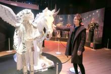 """氷川きよし『衣裳展』開幕 60着以上を展示、一番のお気に入りは""""ペガサス"""""""