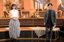 鈴木愛理、音楽番組初司会 清塚信也とXマスメドレーも披露
