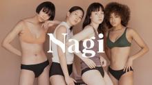 """大人気の「Nagi」がBiople by CosmeKitchenに登場!""""吸水ショーツ""""を直接手に取って買えるようになるんです"""