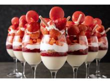 大人気の苺を主役にしたフォトジェニックなデザートビュッフェが待望の再開