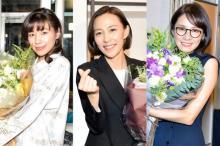 木村佳乃『こいはは』クランクアップ 共演者サプライズ登場に涙「感極まっちゃって…」