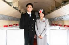 坂口健太郎、広瀬すずと淡い恋を繰り広げるパイロット役 まぶしすぎる2ショット解禁
