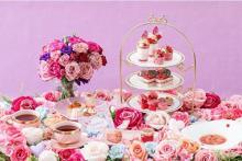 いちご&バラに包まれた優雅な時間。ストリングス八事に「眠れる森の美女」がテーマのアフタヌーンティーが登場