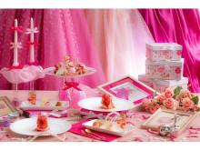 """キュートでガーリー!スイーツイベント""""girl's pink strawberry tea party""""開催"""