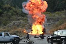 唐沢寿明主演『24 JAPAN』年内ラスト カーチェイスに銃撃戦、車も爆破