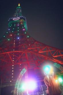 天月-あまつき-コラボ記念のミニライブ 小ボケで笑わせる「東京タワーさんにも来ていただいて」