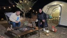 """ナイナイ、結成30周年の節目に""""2人きりでキャンプ"""" 解散の不安、相方に望む姿などを本音で語り合う"""