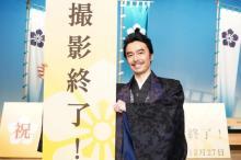 長谷川博己、撮影休止期間を乗り越え『麒麟がくる』撮了「本当に安心した」