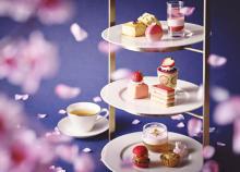 いちご×桜、2つが一度に楽しめるなんて。ストリングスホテル東京の春アフタヌーンティーが待ち遠しい