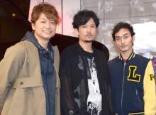 稲垣吾郎&香取慎吾、結婚の草なぎ剛を祝福「まだまだこれから、一笑懸命がんばりましょう!」