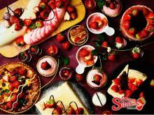 お楽しみがいっぱいの「空想のイチゴ旅」へ。ANAクラウンプラザホテル神戸のイチゴブッフェが週末限定で開催