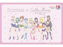 3COINS×劇場版『美少女戦士セーラームーンEternal』コラボ商品発売!