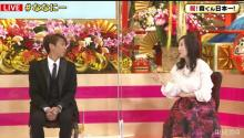 森口博子&森脇健児、『ななにー』にサプライズゲストで登場 森選手は涙浮かべ喜び
