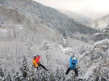 「ツリーピクニックアドベンチャーいけだ」で冬の森を楽しもう!
