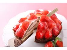 あまおう苺&紅ほっぺ苺のスイーツを堪能!「アンテノール」の苺フェスタ
