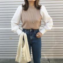 【GU】1990円でいいの!? 1枚でレイヤードスタイルが作れて春までOKなセーターは、人気爆発前にゲットして!