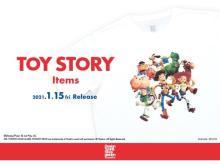 「Design Tshirts Store graniph」に『トイ・ストーリー』アイテムが登場!