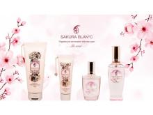 春限定!桜をイメージした香りの「SAKURA BLAN℃」がデザインリニューアル