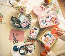 """缶のデザインにも一目惚れ。「カファレル」のバレンタインコレクションは""""こころのつながり""""がテーマです"""
