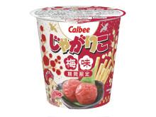 どの梅味が好き?カルビー人気ブランドから梅味の新4品が同時発売