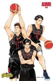 バスケ漫画『switch』再びアルバルク東京とコラボ 試合会場でポスターやパネル展示