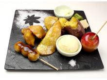 OMATCHA SALONに「食べる日本庭園ZENプレート」と「フルーツ大福」が登場