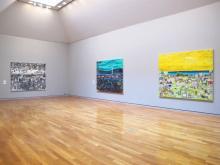 桑久保徹個展、美術史の巨匠をオマージュした「カレンダーシリーズ」展示中