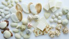 心惹かれる真っ白なセレクション。DEAN&DELUCAのバレンタインはホワイトチョコレートが主役です