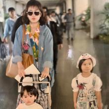 """高橋ユウ、30歳""""誕生日""""母親&幼少期の写真公開 夫のサプライズに感激も"""