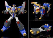 『ガンバルガー』リボルガー、プラスチックモデルに ミラクル武装も再現