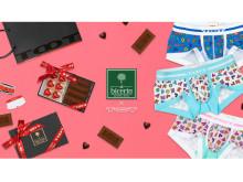 """バレンタイン限定!Bicerin×TOOTの""""チョコ&ボクサーパンツ""""コラボギフト"""