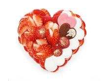 """恋が実りますように!いちご""""恋みのり""""を使用したバレンタイン限定ケーキ"""